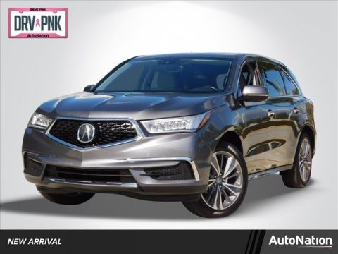 Pre-Owned 2018 Acura MDX w/Technology Pkg