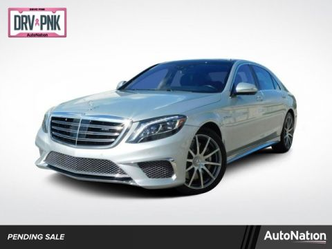Pre-Owned 2015 Mercedes-Benz S-Class S 65 AMG®